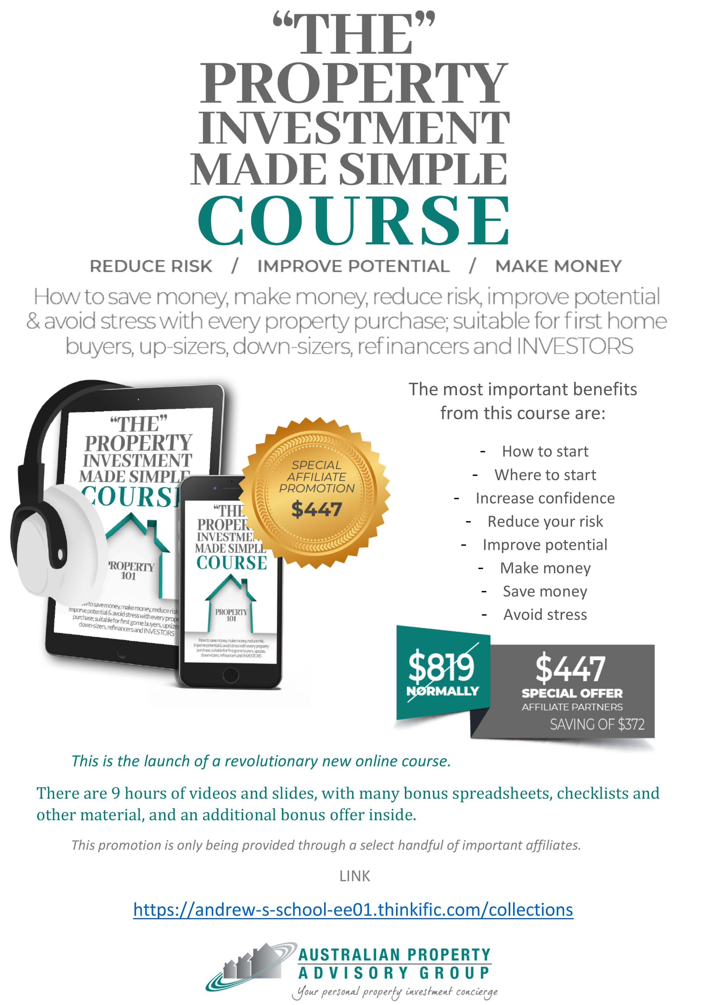 Property Investment course